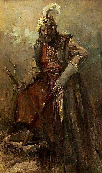 Oriental Warrior — Nikolaos Gyzis