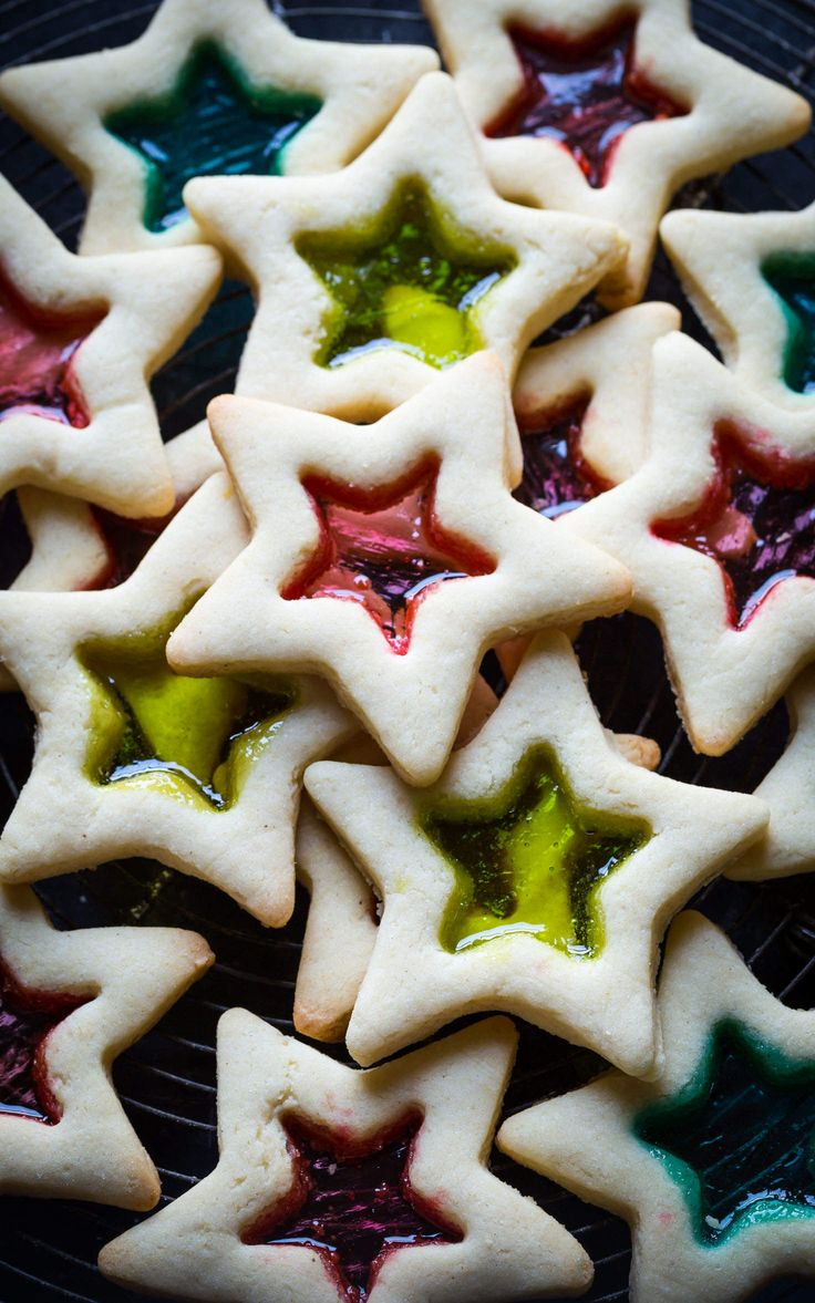 Simply gorgeous Gluten Free Christmas Cookies with Stained Glass. You can make these with your kids, they are SO easy!