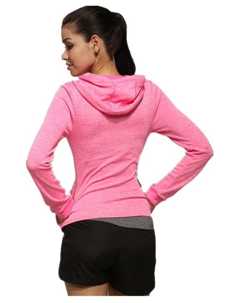 Lightweight Women's Activewear Yoga Running Gym Jacket