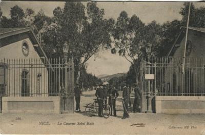 N D Phot Postcard - 556 Nice, La Caserne Saint-Roch c1905
