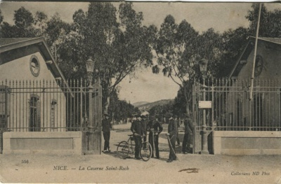 N D Phot Postcard - 556 Nice, La Caserne Saint-Roch