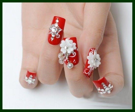 3D nail art design