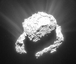 One year after the spacecraft dived into Comet 67P/Churyumov-Gerasimenko, it gave scientists a gift from beyond the grave.