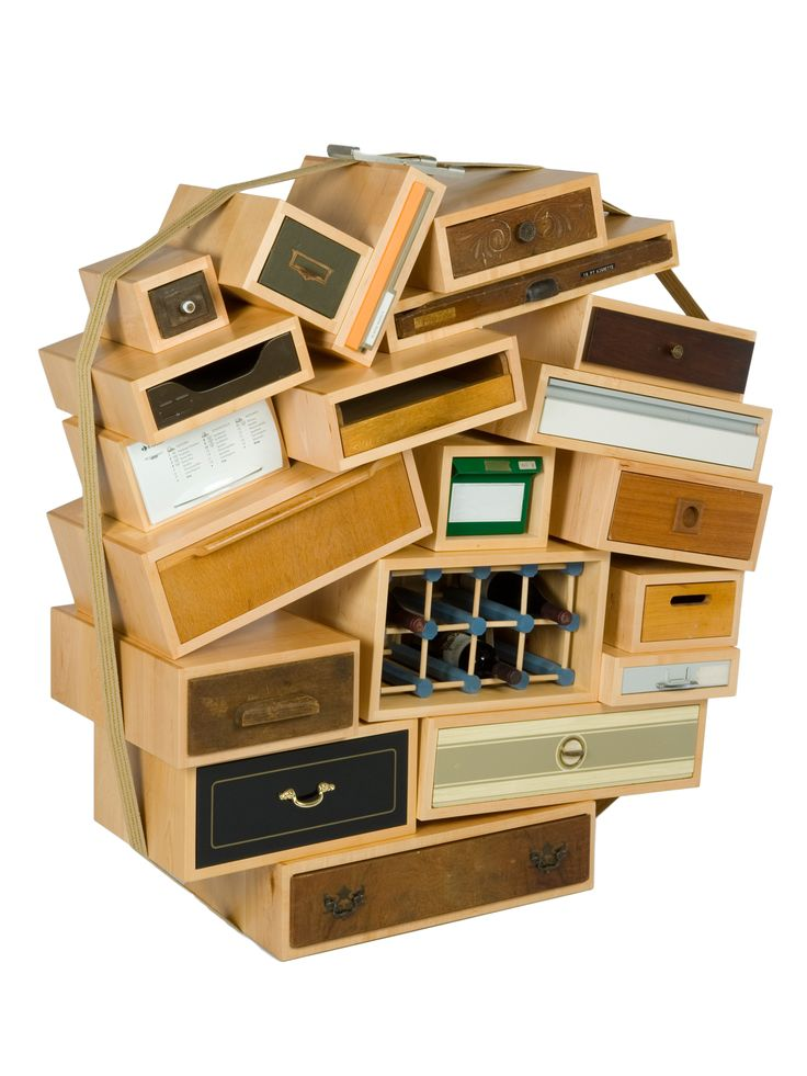 Tejo Remy B 1960 Chest Of Drawers Art Sculpture