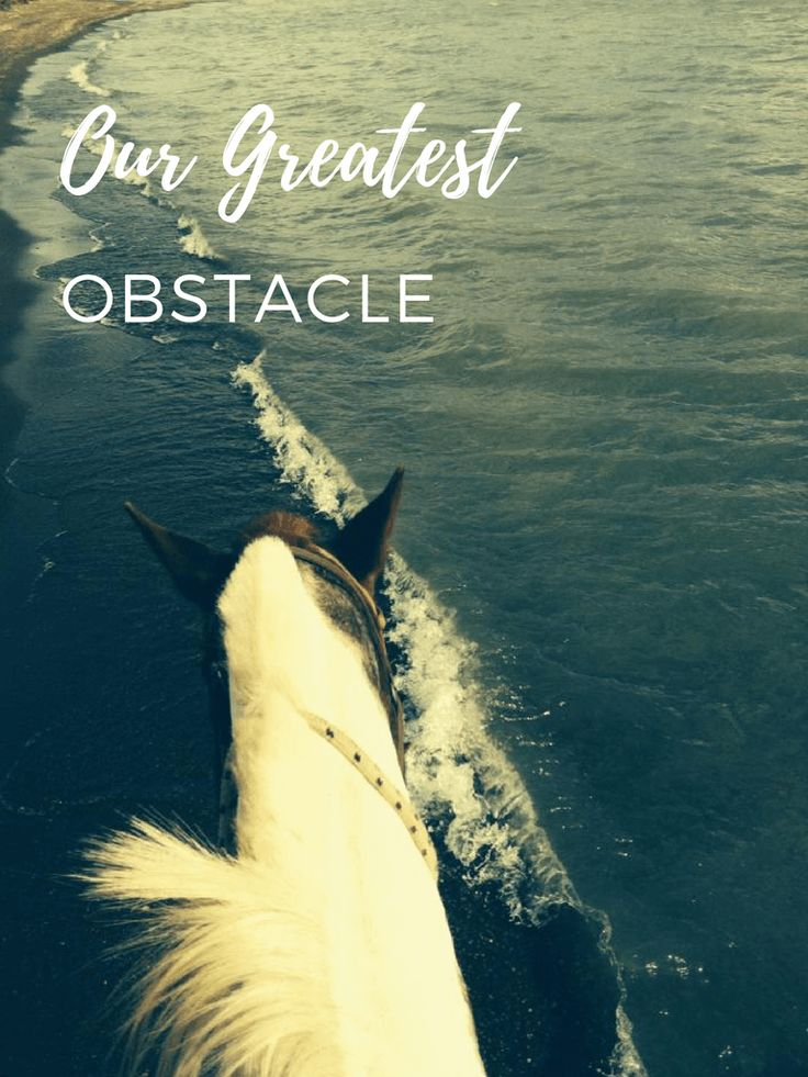Our Greatest Obstacle