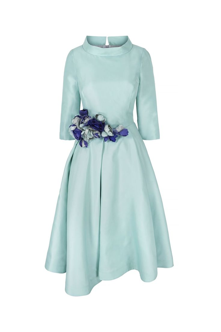 9 best Silk Gazar 1950s influenced Midi Couture Dress images on ...