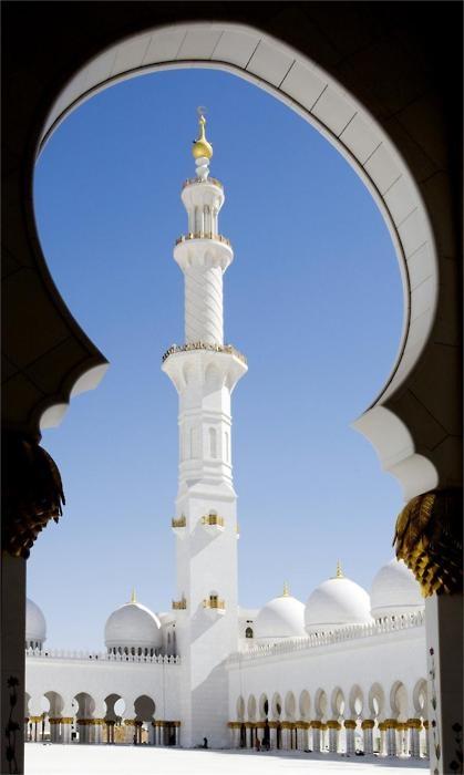 Minaret,Sheikh Zayed Mosque - Abu Dhabi | United Arab Emirates