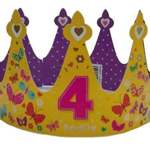 Children's Age Birthday Crown 376467