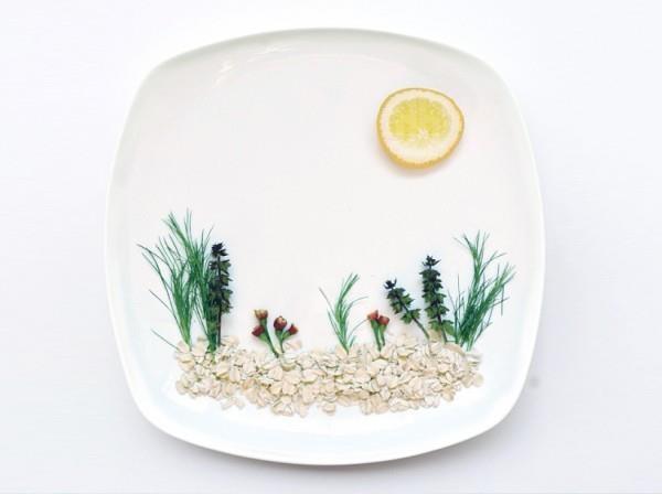 Hong Yi, artista e architetto malese per tutto il mese di marzo pubblicherà su Instagram dei piatti ricette, che hanno tutta l'aria di essere dipinti e vere opere d'arte.