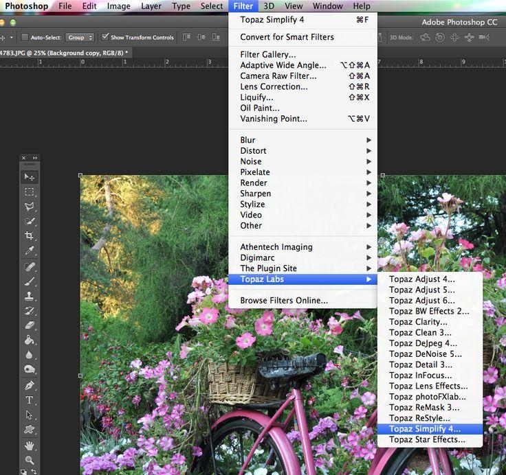 Create a Digital Painting, Topaz Simplify, Greg Lindenbach, Topaz Labs, PhotoshopCC