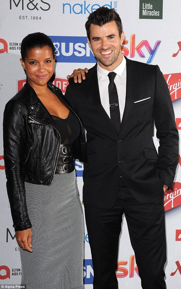 Gorgeous red carpet ready interracial couple #love #wmbw #bwwm