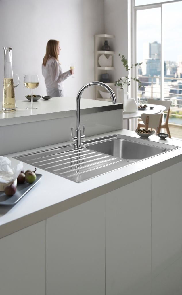 To shine chrome sink fixtures that have