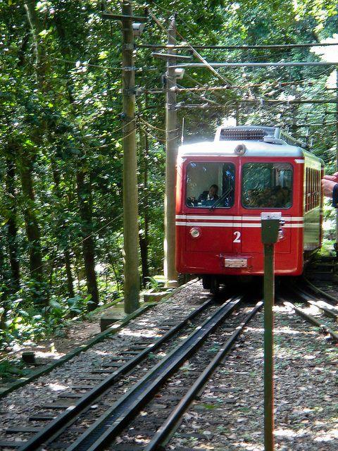 Corcovado Railway - Rio de Janeiro, Brazil