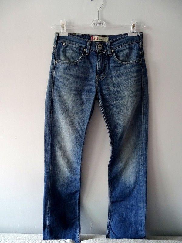 Spodnie jeans długie LEVIS 511 SLIM męskie