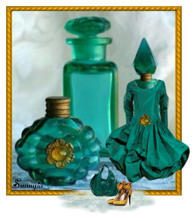 Perfume Bottle1 by sunnyia on Polyvore featuring Lanvin, Valentino and Bill Blass