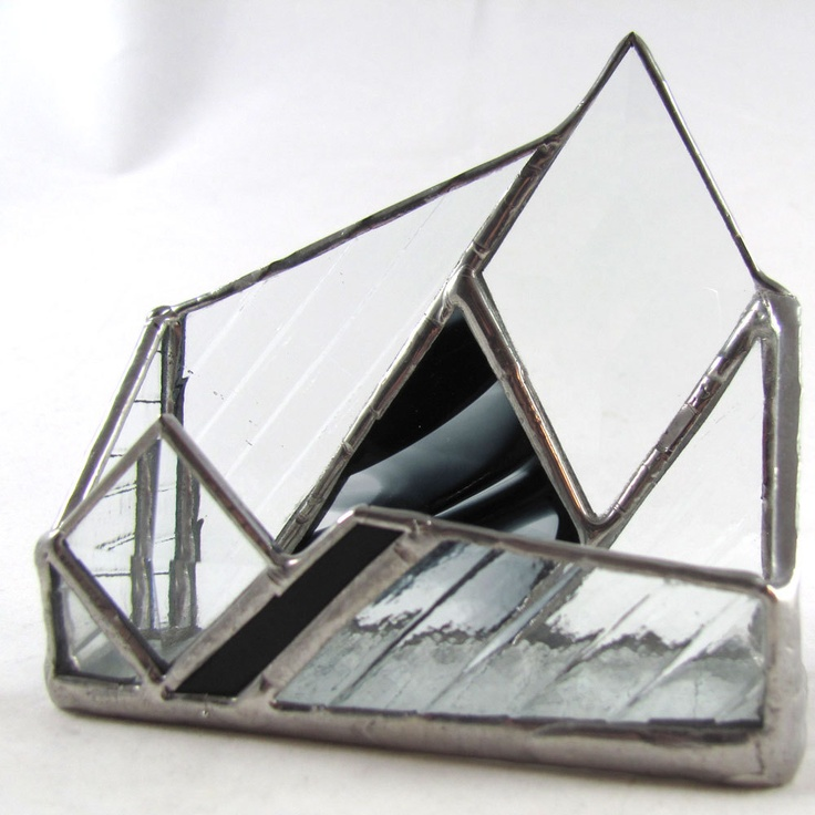 542 best stained glass business card holder images on Pinterest ...