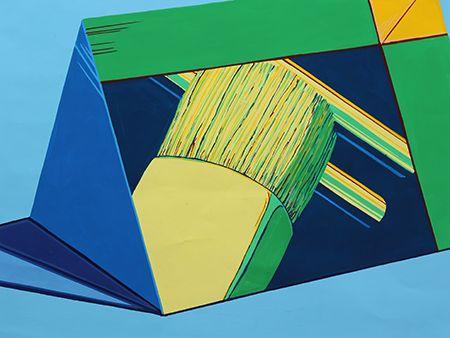 2015年度 武蔵野美術大学空間演出デザイン学科 現役合格者再現作品:色彩構成