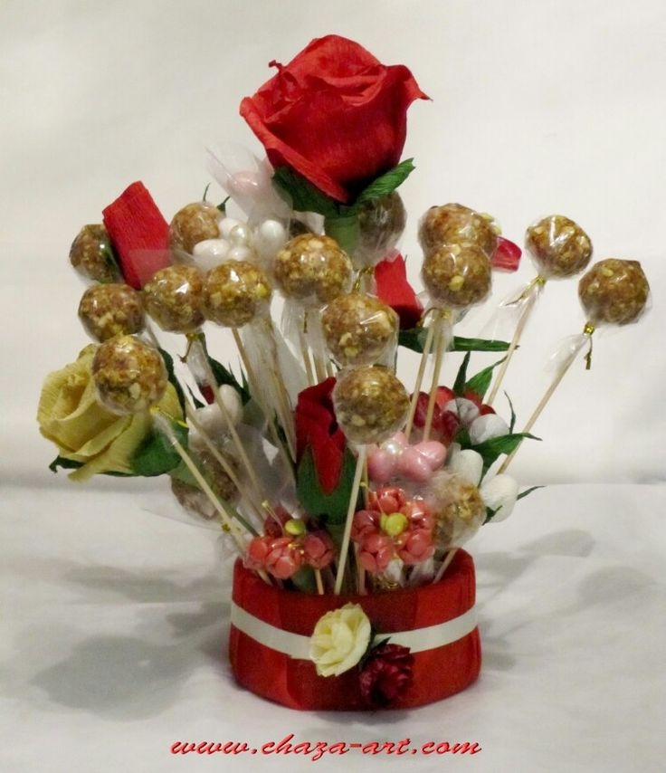 Best images about chocolate candy bouquet on