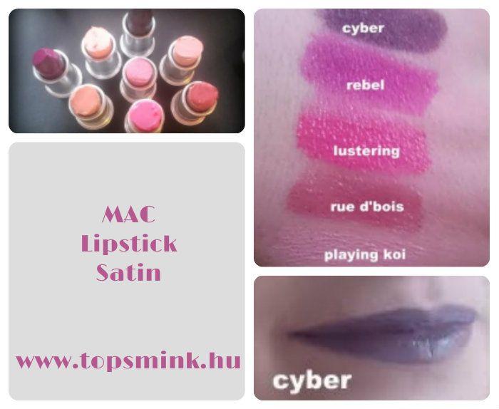 Minden. amit a Mac rúzsokról tudni szeretnél. Olvasd el a blogon! Színek, textúrák. www.topsmink.hu Smink, Sminktippek, Mac lipstick, Mac rúzs