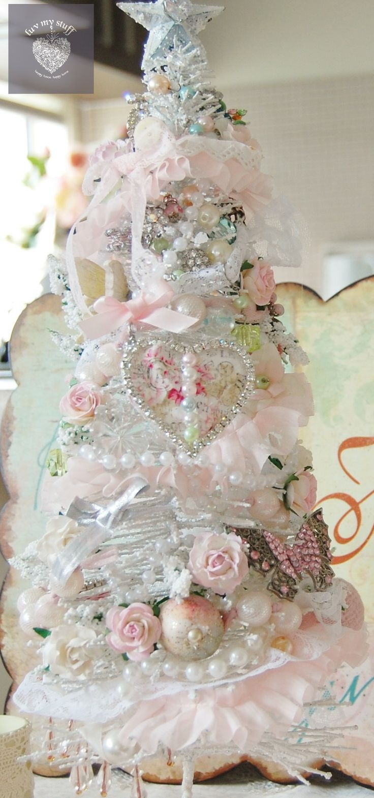 Pink Shabby Chic Dresser: 17 Best Images About Shabby Christmas~ On Pinterest