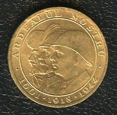 ROMANIA 20 LEI GOLD COIN 3 KINGS