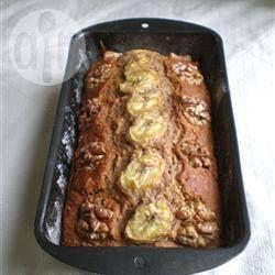 Bolo de banana e nozes com pouca gordura @ allrecipes.com.br