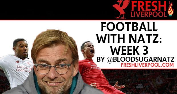Football with Natz – Weekly Round-up: Gameweek 12 | Fresh Liverpool