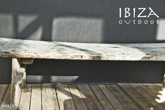 Salon tafel recycled hout | #Sneup