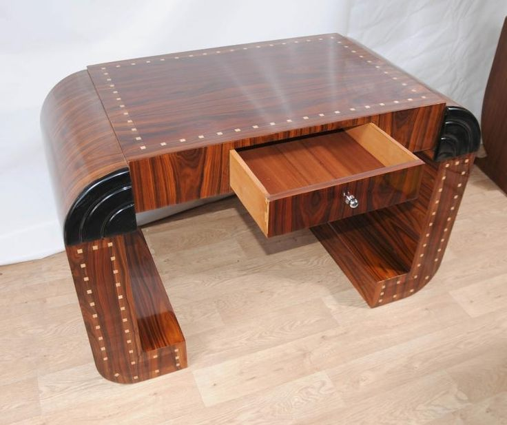 Best Art Deco Furnishings Images On Pinterest Art Deco - Art deco furniture designers desks