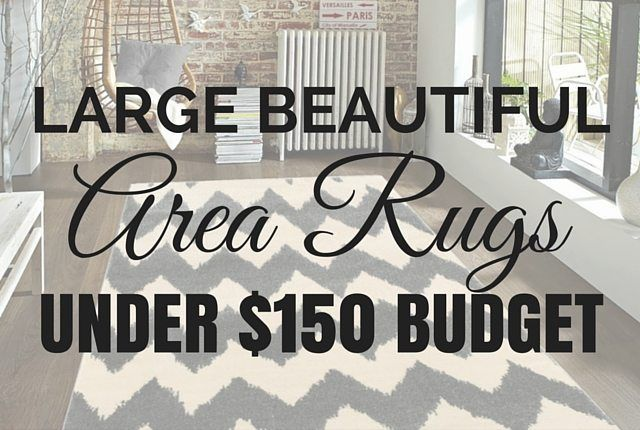 I found some killer deals on large area rugs on any budget and I love sharing crazy great deals with my readers!