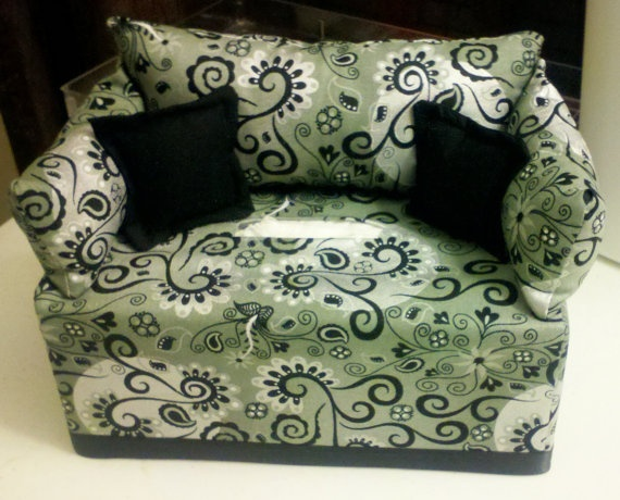 Contemporary Chic Tissue Box Couch Cover by ColorPopShoppe on Etsy, $30.00