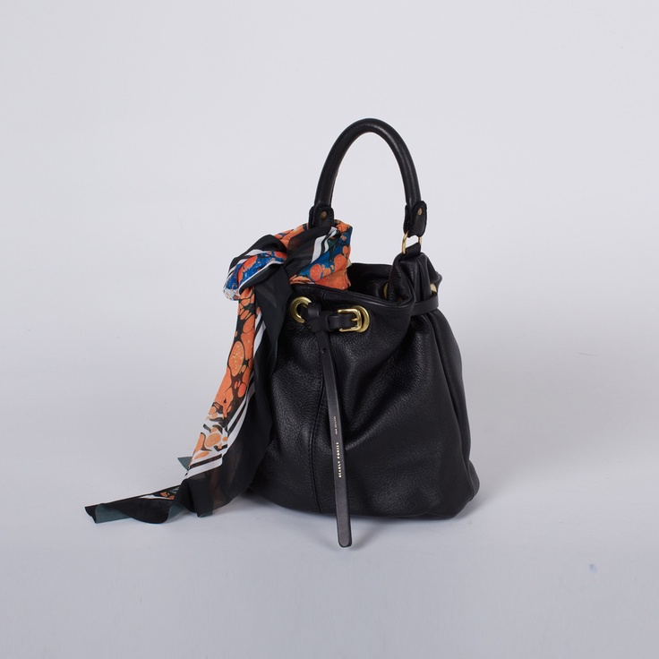 Deadly Ponies - Mr Penny Pouch in Black w/ Empire Scarf in Black