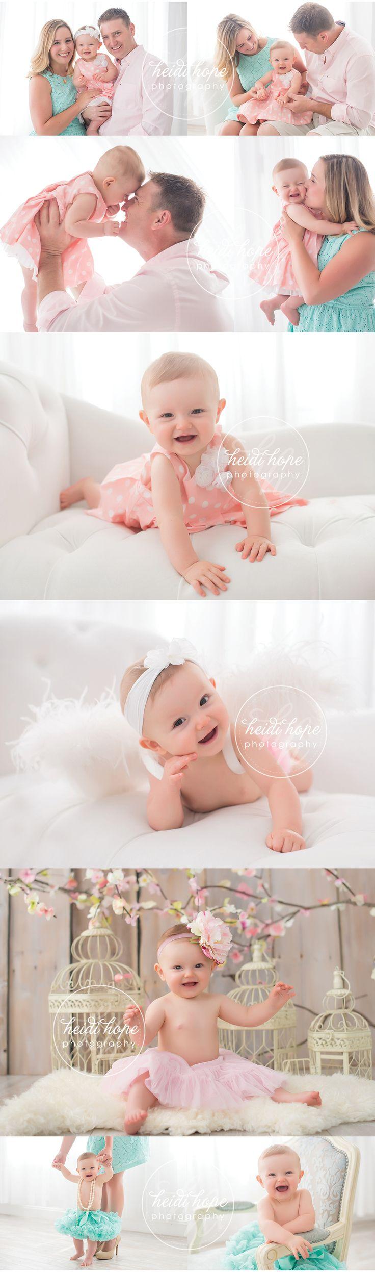Little Angel's 6 Month Session! #familyportrait #allsmiles #littleangel…