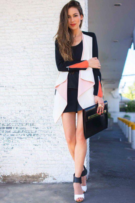 Me encantó el blazer de Nicole Putz. La tenida completa en verdad.