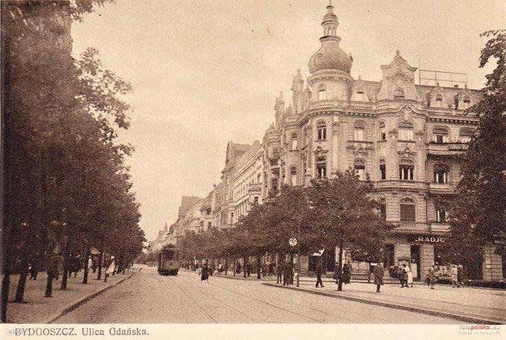 Wolności 1, Bydgoszcz - 1930 rok, stare zdjęcia
