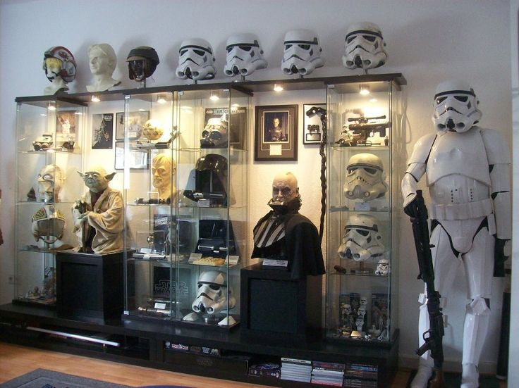 Man Cave War Room : Ingredients for a man cave star wars style geeky