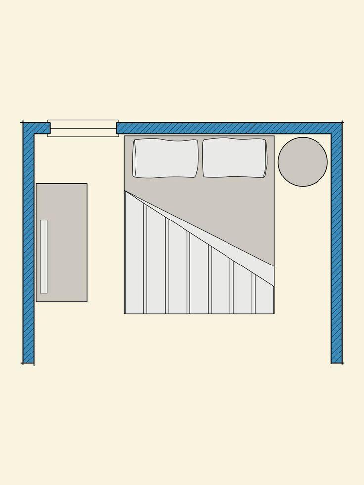 počet nápadov na tému bedroom layouts na pintereste: 17 najlepších