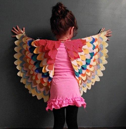 DIY Bird Wings for Children
