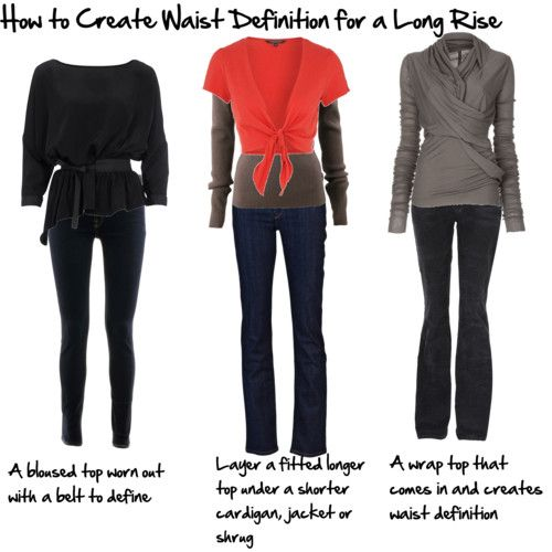 How to Create Waist Definition without a Belt - Inside Out Style