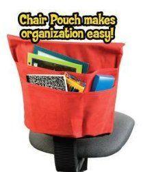 teacher storage | Student Chair Pouch Classroom Storage