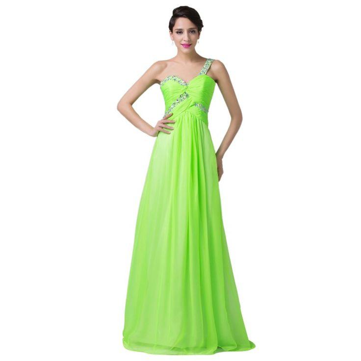 Zelené spoločenské šaty CL6237