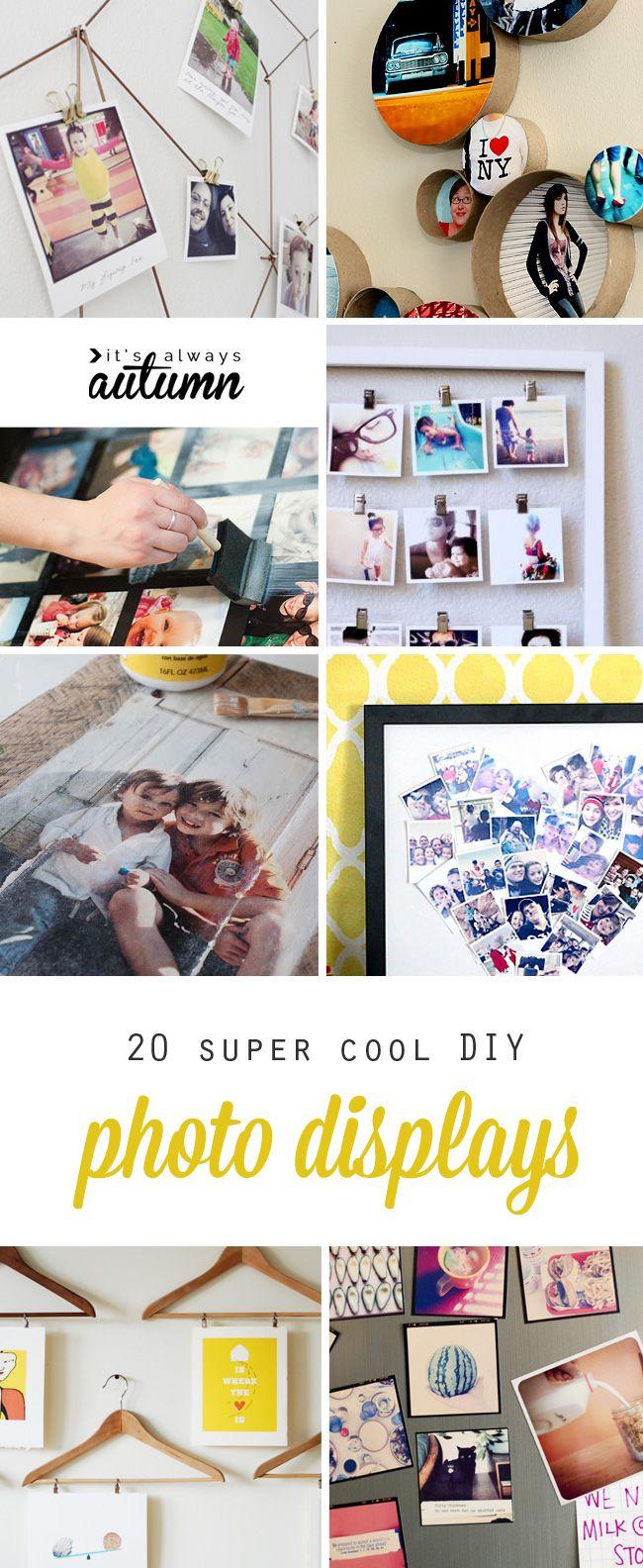 20 best DIY photo display ideas 72