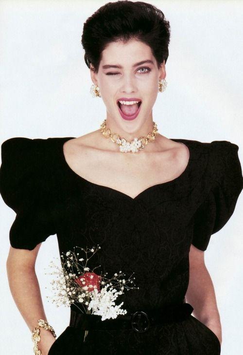 VOGUE Italia, March 1988 Photographer: Bob Krieger Model: Mitzi Martin