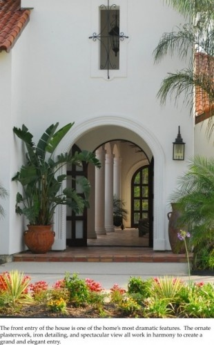 : Dwayne Carruth, Carruth Mediterranean, Mediterranean Entry, Mediterranean Style, Front Doors, Iron Doors, Photo