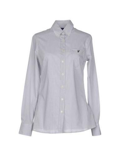 #Trussardi jeans camicia donna Grigio  ad Euro 78.00 in #Trussardi jeans #Donna camicie camicie
