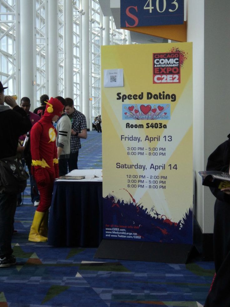 The Flash speed dating