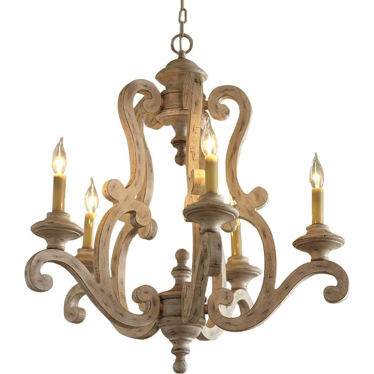 Currey And Company Durand Chandelier: Guglielmo 5-Light Candle Style Chandelier
