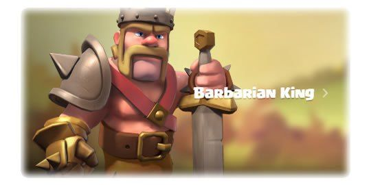 Upgrade Barbarian King or Queen Archer - Barbarian King http://clashcrunch.com/
