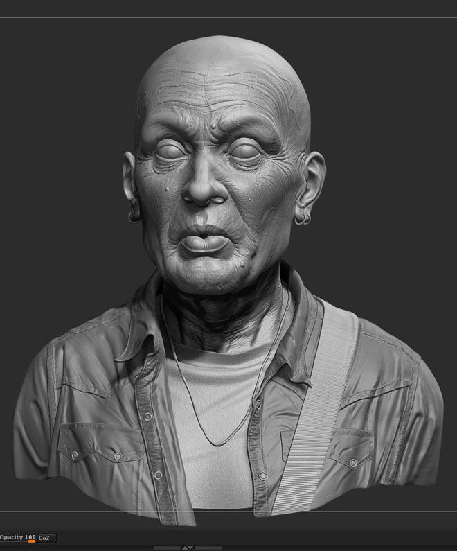 30 Creative ZBrush Models and 3D Sculpture Designs