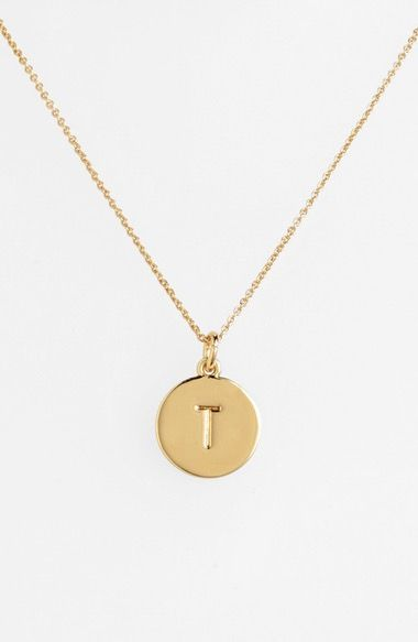 kate spade new york 'one in a million' initial pendant necklace available at #Nordstrom